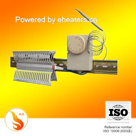 electric heating element for electrical cabinet