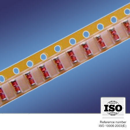 Glass coated NTC Thermistor MF58-1 Series in SMD Tape Package